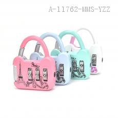 Iron Tower Lovely Colorful 3 Numbers Zinc Alloy Coded Locks