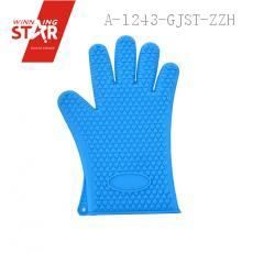 Heat Resistant Silicone Glove Cooking Baking BBQ Oven Pot Holder