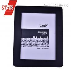 classical Black Picture Frame Hinged Leg square desktop photo frame 6*8inch