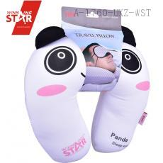 carton cute Panda Neck Pillow MemoryFoam korean U shape neck pillow for travel office