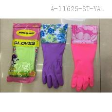 34415-2 PO Gloves with Flowers