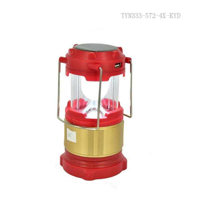 6 LEDs Solar Charger Camping Lanterns Rechargeable Collapsible Light LampMC