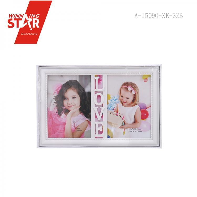 1502 2 Boxes Hollow Love Plastic Picture Frame Art Decor Modern Wall ...