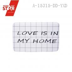 Cute 40*60*1.2cm Simple Letters Strip Grid Mat Ground Flannel Carpets of Living Room Bedroom Rug Carpeted Baby Kids Room
