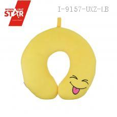 Smiling Face Neck Pillow U Type Neck Pillow With Sling