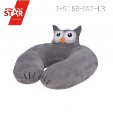 30*30cm Animal Head Neck Pillow U Type Neck Pillow