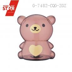 AP0729 Transparent Bear Saving Pot Piggy Bank Money Box