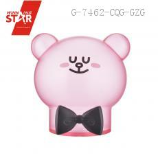 AP1471 Cute Bear With Bowknot Saving Pot Piggy Bank Money Box