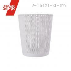 1198 Large Size Straw Weaving Weaving Wastepaper Baskets Waste Container Trash Can