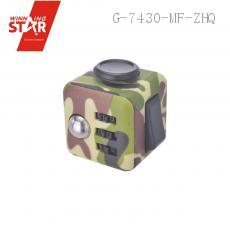 Camouflage Decompression Reduced Pressure Fidget Cube