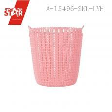CH-506 Straw Weaving Weaving Wastepaper Baskets Waste Container Trash Can