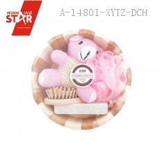 Bathroom FOUR-PIECE With Bath Flower Bear Rectangular Grinding Feet Stone Comb