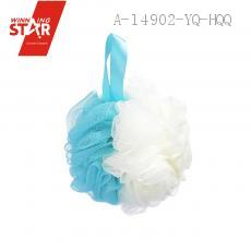 PE Double Color Stitching Bath Ball