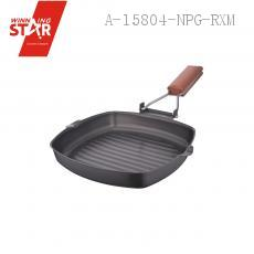 XB01-20# 40.5*22*3.5cm Cast Iron Pan Frying Pan Steak Plate Cast Iron Pan Frying Pan Pot