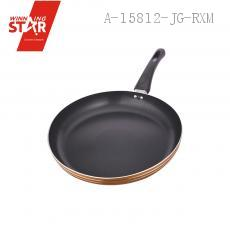 XJ10-28#2.0 Aluminium Alloy 3003 Single Bottom Diplonema Pan Skillet