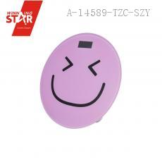 2003A Smiling Face Stalinite Tempered Glass Electronic Scales