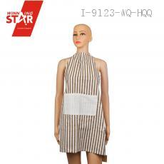 70*77cm Cotton Linen Stripe Apron Pinafore
