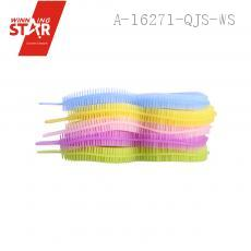43g Colorful Gourd Type Rubber Cleaning Brush