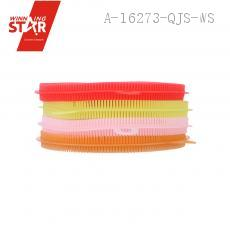 43g Colorful Round Type Rubber Cleaning Brush