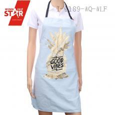 100% cotton pineapple printed aprons