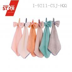 New coral bow hand towel 5 colors