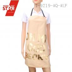 100% cotton bronzing oh my god becky printed aprons 9 colors