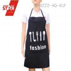 100% cotton stripe tableware printed aprons