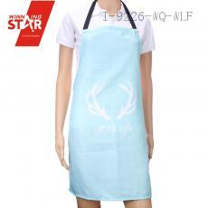 100% cotton plaid printed aprons 4 colors