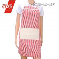 100% cotton lace stripe aprons 3 colors