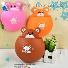 RB272 Hippo/Bear/Frog/Dog toothbrush holder 17.5*15cm