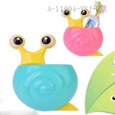 RB246 Snail toothbrush holder 15.7*12.4*5.5cm