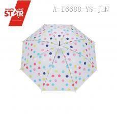 235 Colorful hand painted Long-handle Umbrella 54CM*8K