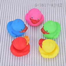 Open mouthed duck Toy Bag PVC 150g 5pcs/set