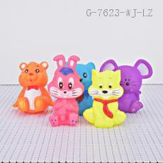 Animal Toy Bag PVC 180g 5pcs/set