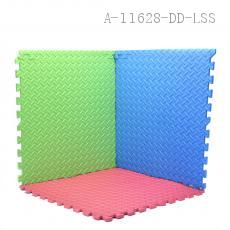 Colored Floor Mat 62.5*62.5*1.1cm 4pcs/set