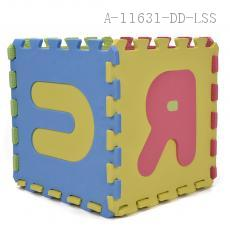 Letter Pattern Floor Mat 10pcs/set