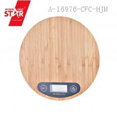 KE-F Round Wood Pattern Household Scale 20*20*2cm