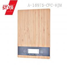 KE-A-Z Wood Pattern Household Scale 23*16*2.2cm