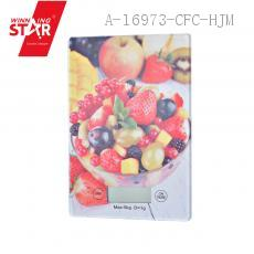 ZD-KE-A-T Fruit Pattern Household Scale 23*16*2cm