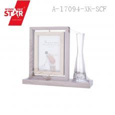 HW096 Photo Frame with Bottle 22*18.7*6.5cm