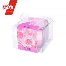 1027 Square Glass Candle 6.5*6.5*5cm