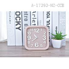 976 Wheat Square Alarm Clock PS 13*13*4.5cm