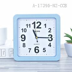 8089 Wheat Square Alarm Clock PS 15.5*15.5*4cm