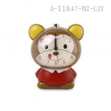 Cartoon Alarm Clock with light 11.5*8.5*13cm