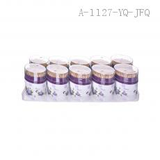 2089 Toothpick with oval box 10pcs/dozen