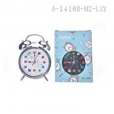 4 Inch Number Pattern Alarm Clock 10*16*5.5cm