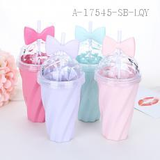 AP1418 Bowknot Water Cup PS 9.8*5.6*21cm