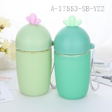 Lovely Cactus Pattern Water Cup 13.5*6.5cm
