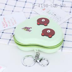 Bear Pattern Wallet 10.5*9.4*3.6cm