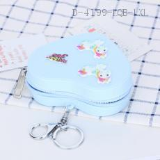 Unicorn Pattern Wallet 6pcs/bag 10.5*9.4*3.6cm